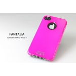 SGP iPhone 4 Case Ultra Thin Vivid Series [Fantasia Hot Pink] (SGP06936)